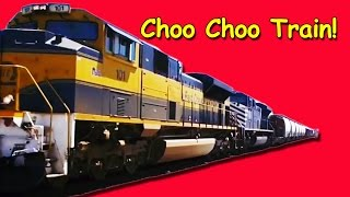 Train Song: Choo Choo Train for Children, Kids, Babies and Toddlers   Counting Song   Patty Shukla