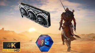 Assassin's Creed Origins 4K ultra high i9-9900K 5Ghz GTX 1080 Ti OC