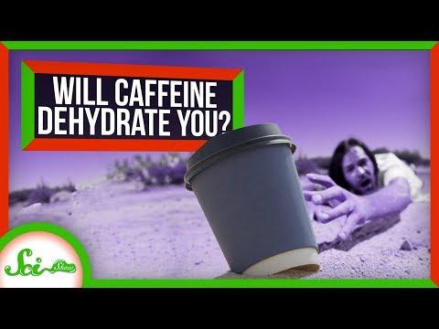 Dehydruje kofein?