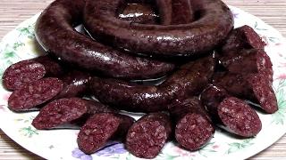 Кровяная колбаса за 20 минут с фаршем / простой РЕЦЕПТ Кровянка