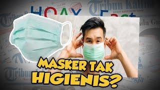 Hoax or Fact: Viral! Video Pengemasan Masker Diletakkan di Lantai dan Diinjak?