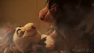 【The Lion King】Mufasas death - LIVE ACTION【Plush Parody】