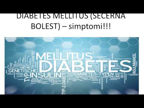 To jest, ne-inzulin-ovisni dijabetes mellitus