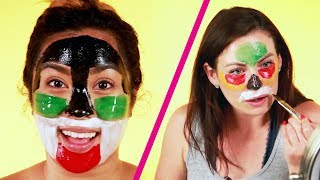 We Tried Coloring Face Masks