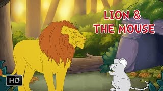 Aesop's Fables - The Lion and The Mouse - Moral Stories for Kids