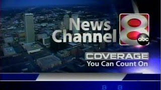 KTUL-TV, Ch. 8 Tulsa, OK, 6 PM news open, from September 29, 2008