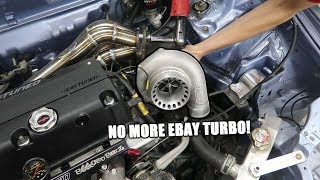 Wago Gets A New Turbo! (It's Name Brand)