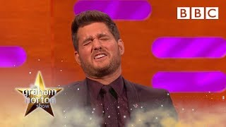 Michael Buble FINALLY Reacts To His Christmas Meme   BBC