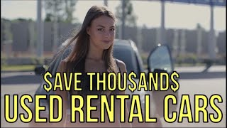 BUY USED RENTAL CARS DIRECT: Bypass the Car Dealers - Auto Expert: The Homework Guy, Kevin Hunter