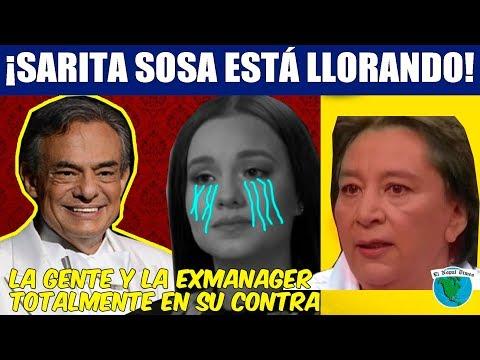 EXMANAGER DE JOSÉ JOSÉ SE VA CON TODO EN CONTRA DE SARITA SOSA: ¡las redes la destrozan!