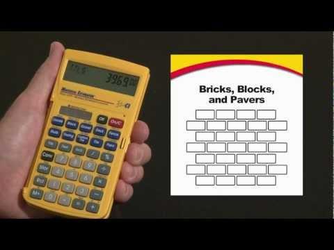 Material Estimator - Bricks, Blocks and Pavers