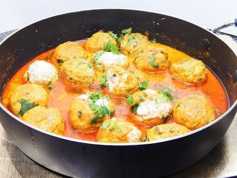 Chicken Malai Kofta/ Chicken Meatballs Curry