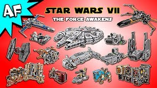 Every Lego Star Wars the Force Awakens Set