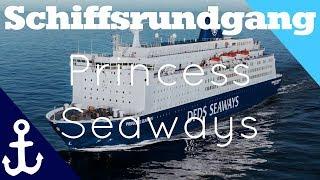 Princess Seaways - Schiffsrundgang - DFDS Seaways