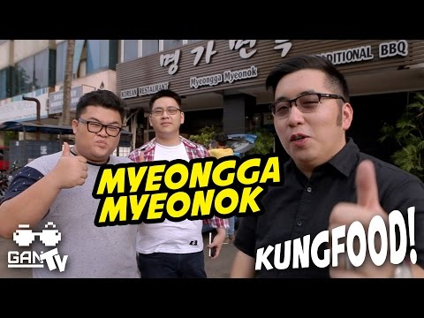 Video KUNGFOOD #03 Myeongga Myeonok Korean Restaurant (Karawaci)