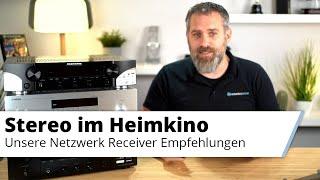Stereo Netzwerk Receiver im Heimkino