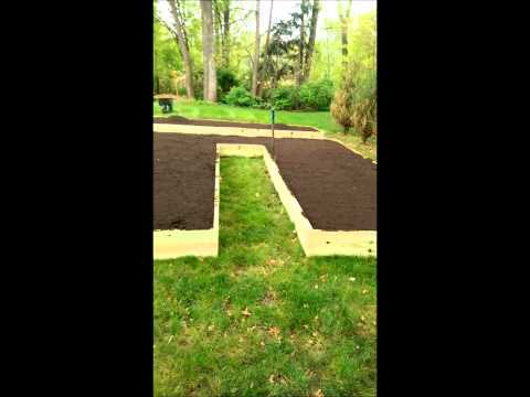 Raised Vegetable Garden in a day DIY