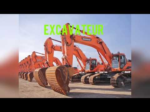 matériel du chantier (terrassement, engins, manutention, transport)