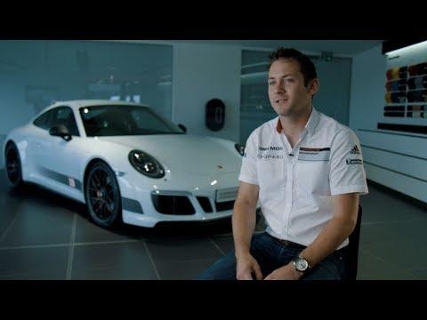 Nick Tandy meets his British Legends Edition 911 Carrera 4 GTS.