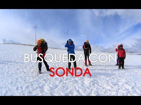 Rescate avalancha con SONDA