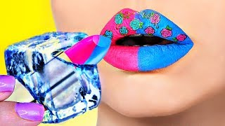 БЬЮТИ ЛАЙФХАКИ, которые изменят жизнь девушек / DIY Makeup Life Hacks