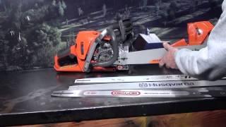 The chainsaw guy shop talk professional chainsaw bars Husqvarna 372 XP Stihl