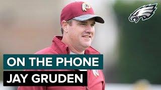 Redskins Head Coach Jay Gruden on Backup QB Colt McCoy   On the Phone