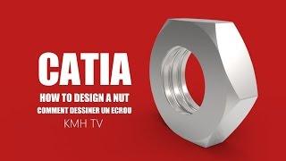 catia v5 : video tutorial how to Create helix in Catia v5 - Самые