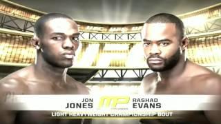 Jon Jones vs Rashad Evans