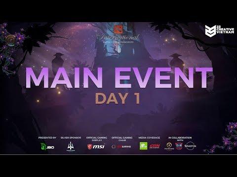 The International 9 | Main Event Day 1 | Team Liquid vs Fnatic | 23 Creative VN