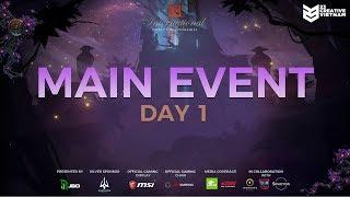 The International 9   Main Event Day 1   Natus Vincere vs Mineski   23 Creative VN