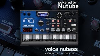 Korg VOLCA NUBASS - Video