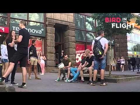 В центре Киева жестоко избили ногами геев