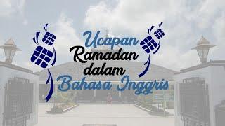 Kumpulan Ucapan Selamat Ramadan 2020 dalam Bahasa Inggris