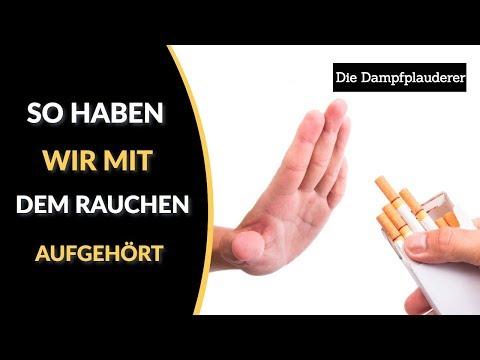 Der Müller Rauchen aufzugeben
