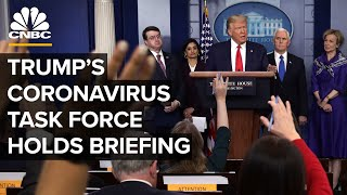 WATCH LIVE: Coronavirus task force holds briefing as global cases surpass 1 million - 4/2/2020