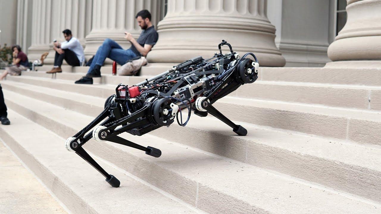 Обновленному роботу Cheetah не нужно зрение, чтобы вас догнать (7 фото + видео)