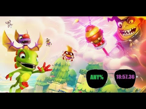 Yooka-Laylee and the Impossible Lair Any% in 18:57.36* [Former WR]