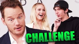 RETOS CON JENNIFER LAWRENCE Y CHRIS PRATT
