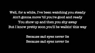 Bruce Springsteen - Sad Eyes (Lyrics)