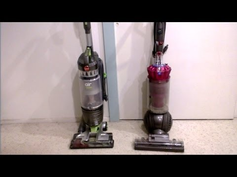 Hoover Windtunnel Air Pro vs. Dyson DC41 Animal – FULL vacuum REVIEW and TEST!
