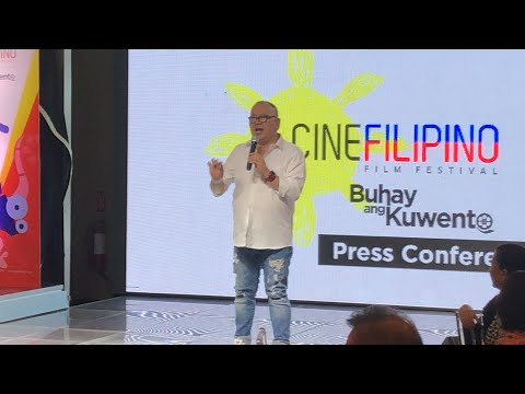 Direk Joey Reyes 3 Decades in Film Industry CINEFILIPINO Film Festival Head
