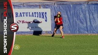 Softball How To Field Fly Balls With Mike Candrea
