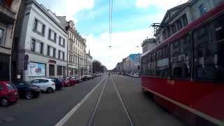 preview picture of video 'Linia tramwajowa nr 7 - Katowice Zawodzie Pętla - Bytom Plac Sikorskiego'