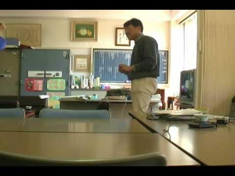 新潟市立真砂小学校での練習2009.3.28