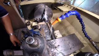 Cutting threads on metal lathe 33×3.5 din 800