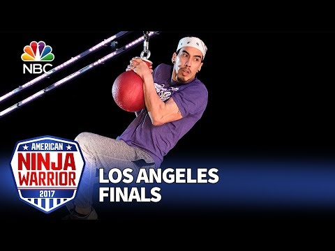 Gabe Hurtado at the Los Angeles Finals - American Ninja Warrior 2017