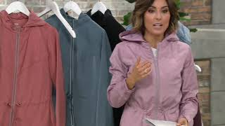 zuda Summit Jacket with Drawstring Waist on QVC