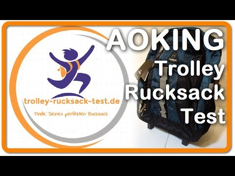 Trolley Rucksack Test - AOKING Schulrucksack Trolley - Finde Deinen perfekten Rucksack Trolley!