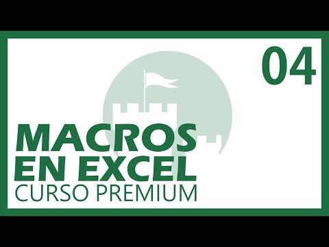 Macros Excel Premium Cap. 4 Programación Orientada a Objetos [CC] @adndc @adanjp